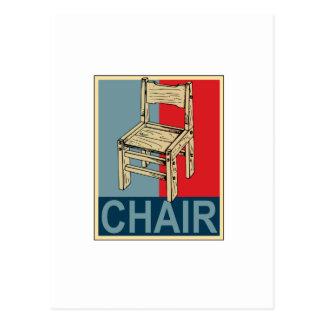 Reelija la silla 2012 tarjetas postales