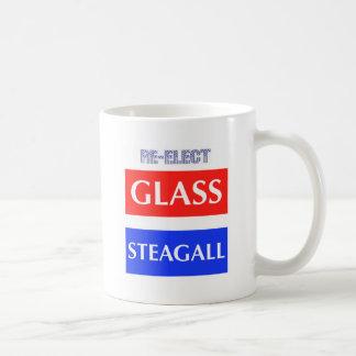 REELIJA Steagall de cristal Taza