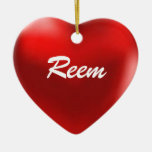 Reem Ornament Heart