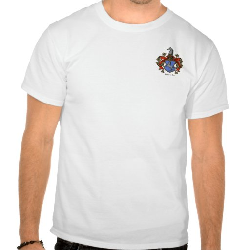 Rees Family Coat of Arms Tshirt