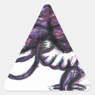Reescritura Mindwipe de Mindweapon Pegatina Triangular