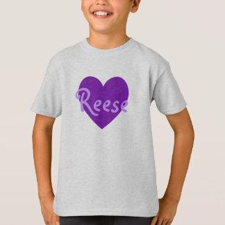 Reese en púrpura playera