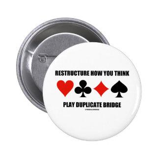 Reestructure cómo usted piensa el puente del