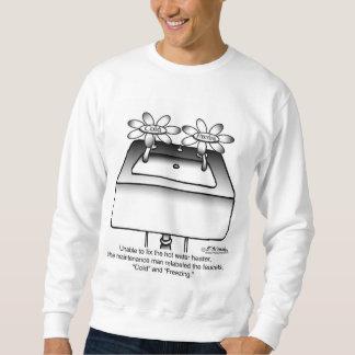 Reetiquete los grifos fríos y la congelación jersey