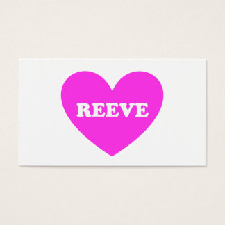Reeve Business Card