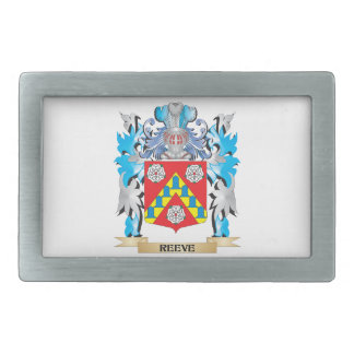 Reeve Coat of Arms - Family Crest Belt Buckles