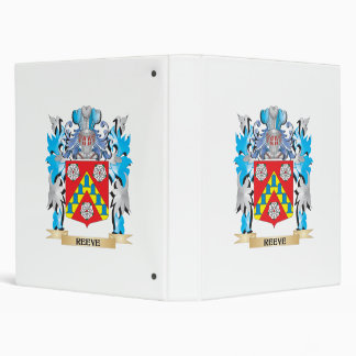 Reeve Coat of Arms - Family Crest 3 Ring Binders