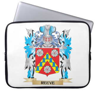 Reeve Coat of Arms - Family Crest Laptop Sleeves