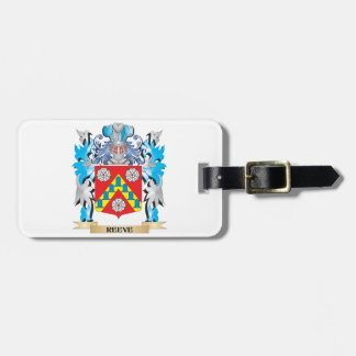Reeve Coat of Arms - Family Crest Luggage Tag