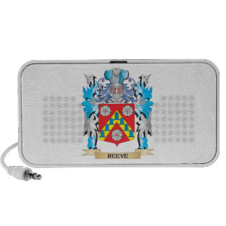 Reeve Coat of Arms - Family Crest Notebook Speaker
