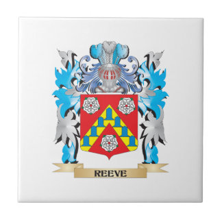 Reeve Coat of Arms - Family Crest Ceramic Tile
