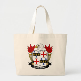 Reeve Family Crest Tote Bags