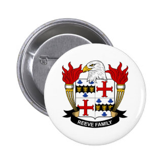 Reeve Family Crest Buttons
