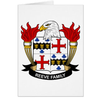 Reeve Family Crest Cards