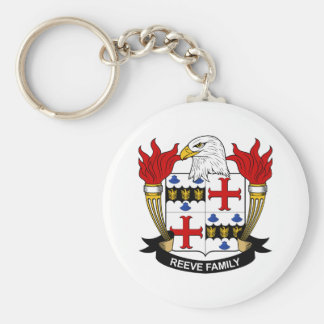 Reeve Family Crest Key Chains