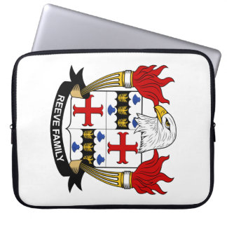 Reeve Family Crest Laptop Sleeve