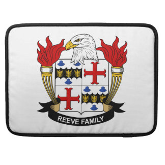 Reeve Family Crest Sleeve For MacBook Pro