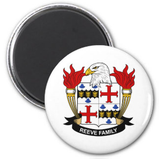 Reeve Family Crest Fridge Magnets
