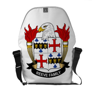 Reeve Family Crest Messenger Bags