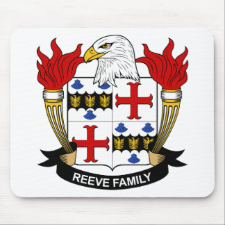 Reeve Family Crest Mouse Mats