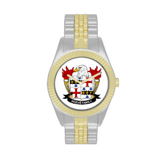 Reeve Family Crest Watch