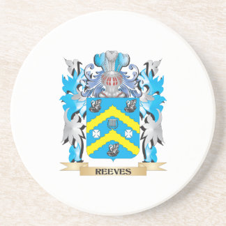 Reeves Coat of Arms - Family Crest Beverage Coaster