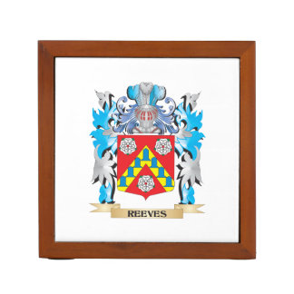 Reeves Coat of Arms - Family Crest Desk Organizer