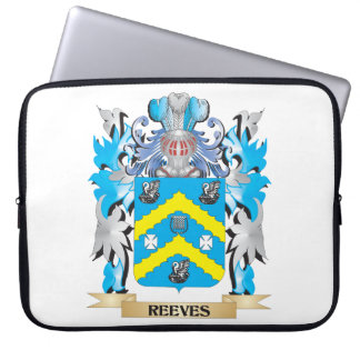 Reeves Coat of Arms - Family Crest Laptop Sleeves