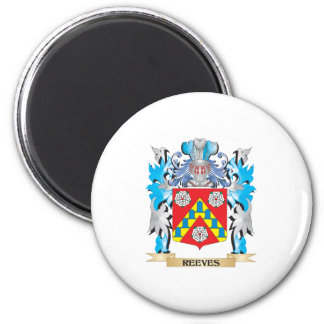 Reeves Coat of Arms - Family Crest Refrigerator Magnet