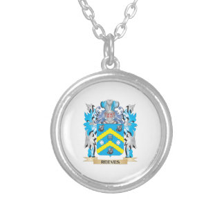 Reeves Coat of Arms - Family Crest Necklace