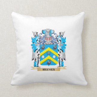 Reeves Coat of Arms - Family Crest Throw Pillow