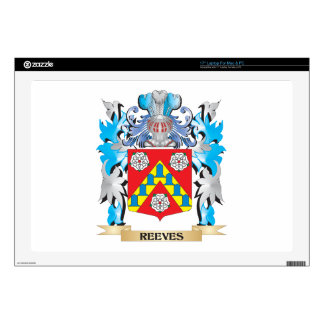 """Reeves Coat of Arms - Family Crest Skin For 17"""" Laptop"""