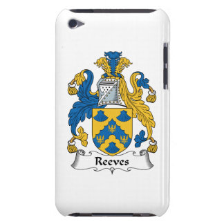 Reeves Family Crest Barely There iPod Case