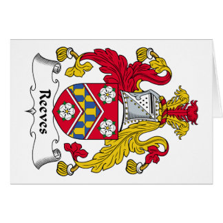 Reeves Family Crest Cards