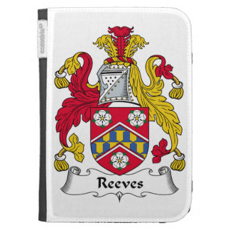 Reeves Family Crest Kindle 3 Covers