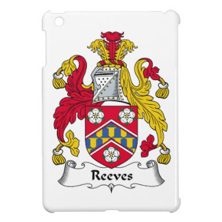 Reeves Family Crest iPad Mini Covers