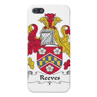 Reeves Family Crest iPhone 5 Cases