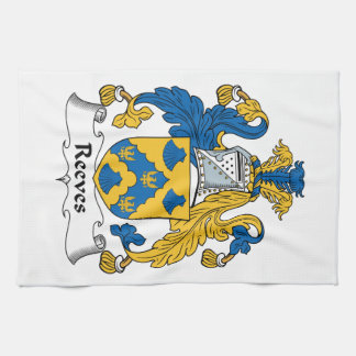 Reeves Family Crest Towels