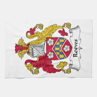 Reeves Family Crest Kitchen Towels