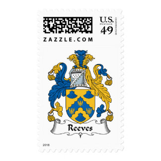 Reeves Family Crest Stamps
