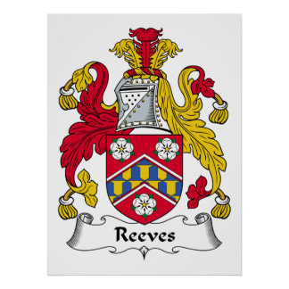 Reeves Family Crest Print