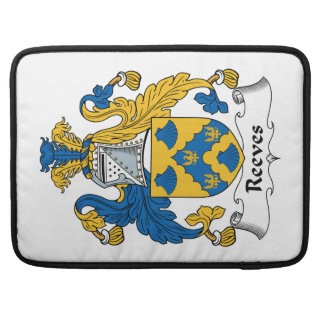 Reeves Family Crest Sleeves For MacBooks