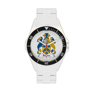 Reeves Family Crest Wrist Watches