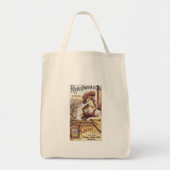 Reeves Parvin Strong Coffee Tote Bag