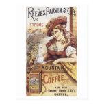 Reeves Parvin y café del Co. Tarjetas Postales