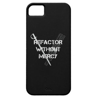 Refactor Without Mercy iPhone 5 Cover