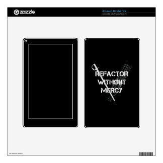 Refactor Without Mercy Kindle Fire Decals