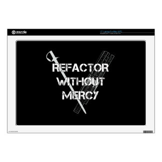 Refactor Without Mercy Laptop Skins
