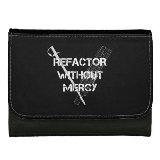 Refactor Without Mercy Women's Wallets