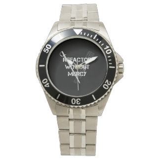 Refactor Without Mercy Wristwatch